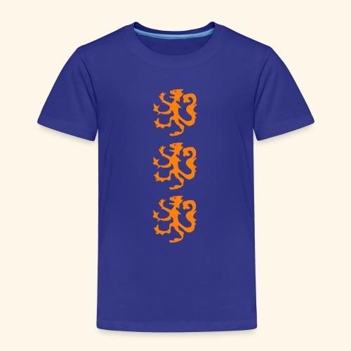 Heraldische leeuw - Kinderen Premium T-shirt