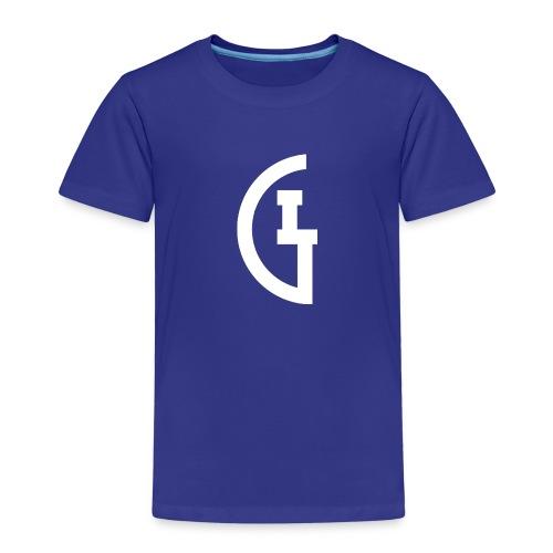 LG white - Kinderen Premium T-shirt