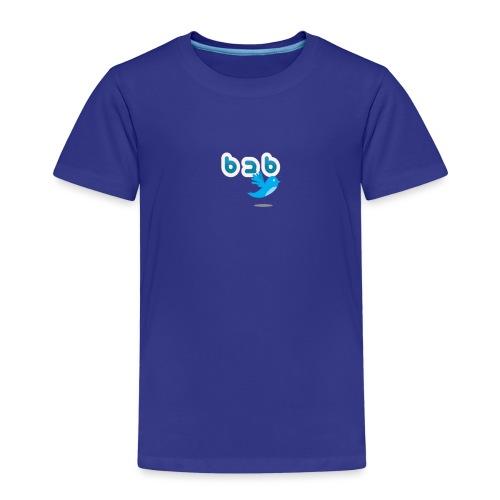 Logo b2bTwitter - Kinderen Premium T-shirt