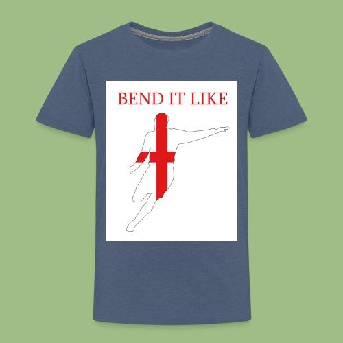 Bend It Like DavidBeckham - Premium-T-shirt barn