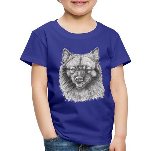 Keeshond - grossspitz - Børne premium T-shirt