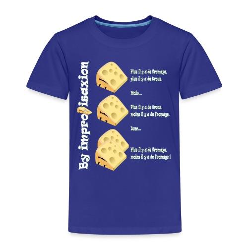 Moins il y a de fromage ? - T-shirt Premium Enfant