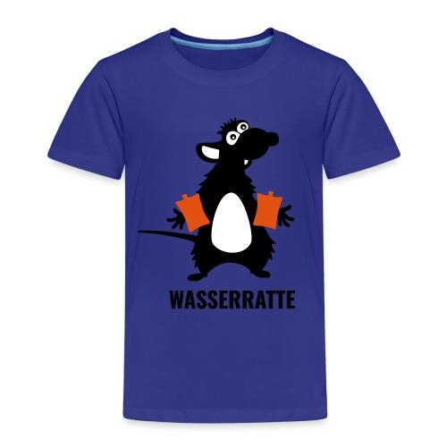 Wasserratte mit Schwimmflügeln - Kinder Premium T-Shirt