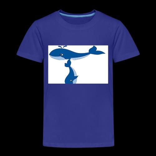 whale t - Kids' Premium T-Shirt