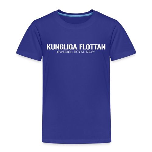 Kungliga Flottan - Swedish Royal Navy - Premium-T-shirt barn