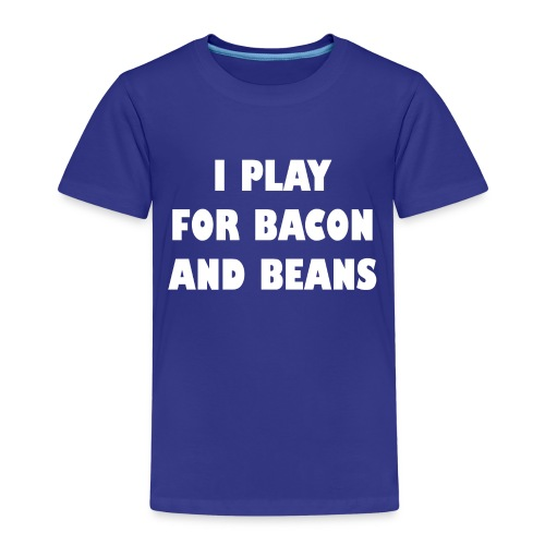 for bacon and beans - Kinderen Premium T-shirt