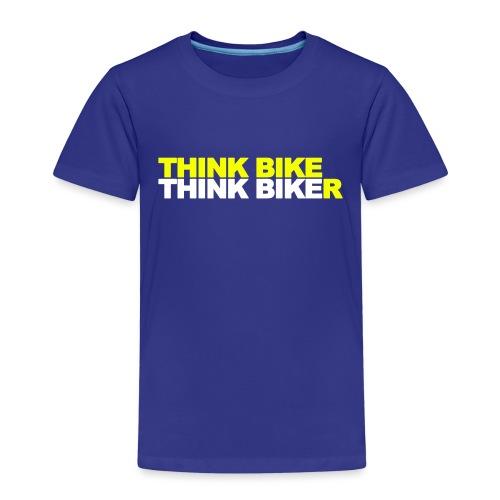 Think Bike Think Biker - Kids' Premium T-Shirt