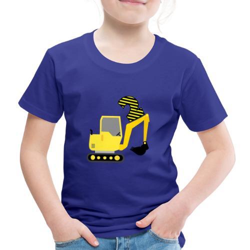 Drugie urodziny Koparka - Koszulka dziecięca Premium