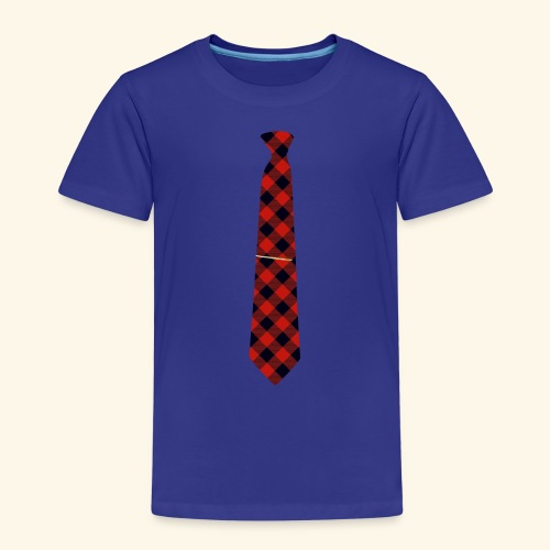 Krawatte 126 mit Goldnadel - Kinder Premium T-Shirt