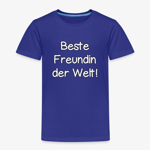 Beste Freundin der Welt! Paar-Geschenkidee - Kinder Premium T-Shirt