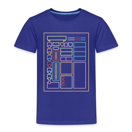Dnd Character Sheet - Koszulka dziecięca Premium