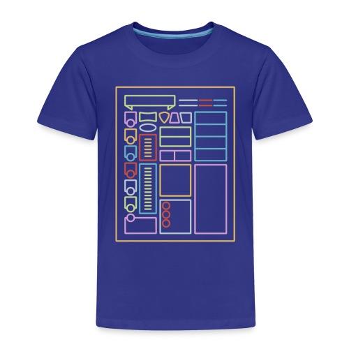 Dnd-merkistötaulukko - Lasten premium t-paita