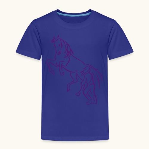 Rising Horse Floor Work cadeau amour fierté - T-shirt Premium Enfant