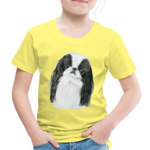 Japanese Chin - Børne premium T-shirt
