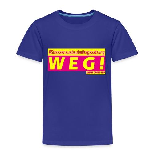 STRABS WEG - Kinder Premium T-Shirt