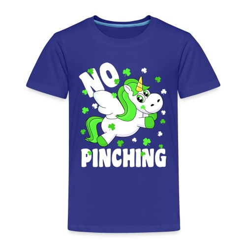 St. Patricks Day No Pinching Unicorn - Kinder Premium T-Shirt