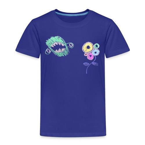 i-hate-flowers - Kinderen Premium T-shirt