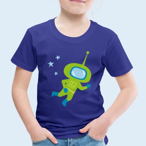 Astronaut - Geschenk Geburt, Geburtstag o. Taufe - Kinder Premium T-Shirt
