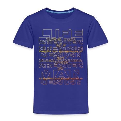 CREATIONISM was CREATED - Kids' Premium T-Shirt
