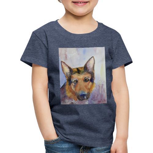 german shepherd wc - Børne premium T-shirt