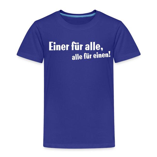 Kinder Kapuzenpullover Einer für alle ....