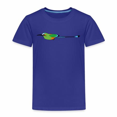 Turquoise-Browed Motmot (Torogoz/Guardabarranco) - Kids' Premium T-Shirt