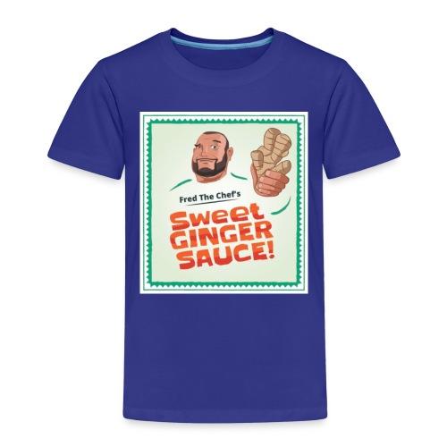 Fred The Chef's Sweet Ginger Sauce - Premium T-skjorte for barn