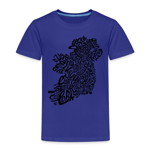 Ireland Typography - Kids' Premium T-Shirt