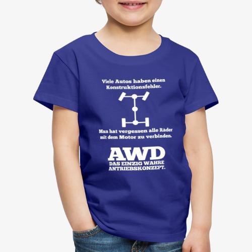 4WD AWD 4x4 Allrad Konstruktionsfehler - Kinder Premium T-Shirt