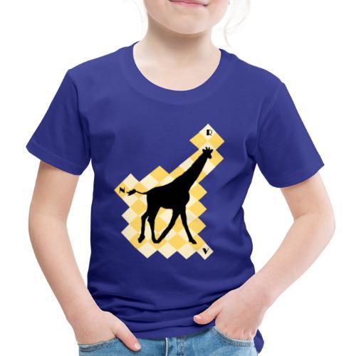 GiraffeSquare - Lasten premium t-paita