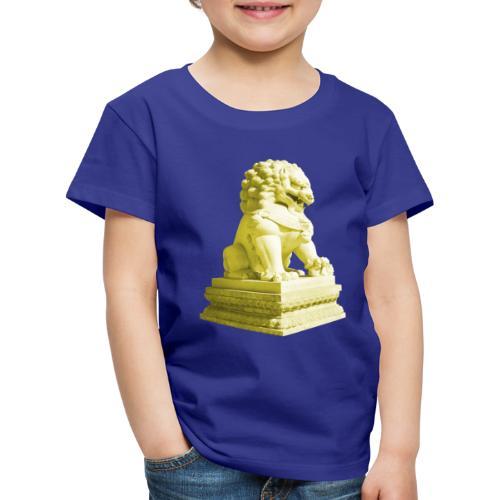 Fu Hund Tempelwächter Wächterlöwe Buddha China - Kinder Premium T-Shirt