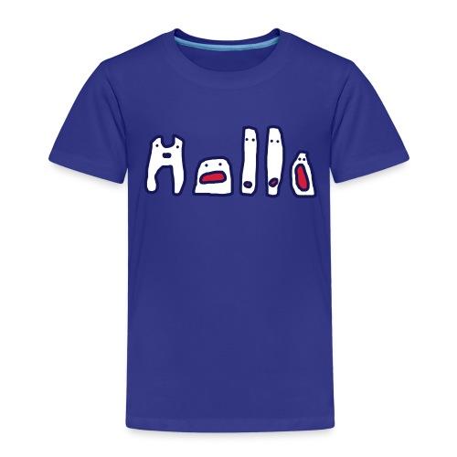 Hallo - Kinder Premium T-Shirt