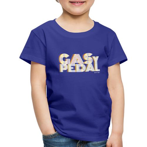 GAS Y PEDAL - Camiseta premium niño