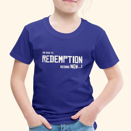 Wild West Game Text Design - Kids' Premium T-Shirt