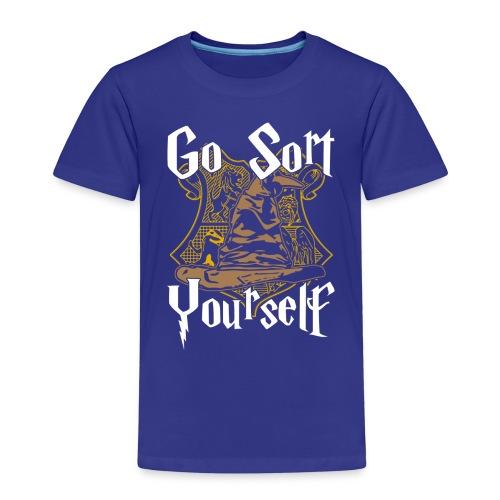 Go Sort Yourself - Kids' Premium T-Shirt