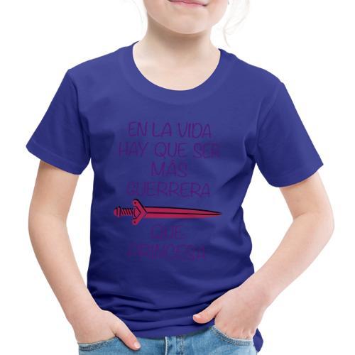 PRINCESA GUERRERA2 - Camiseta premium niño