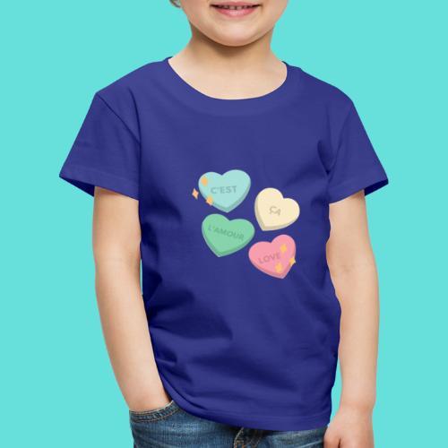C'est ça l'amour, love - T-shirt Premium Enfant