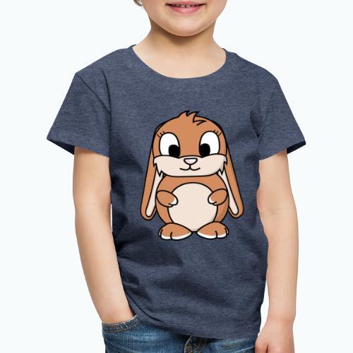 Lily Bunny - Appelsin - Premium-T-shirt barn