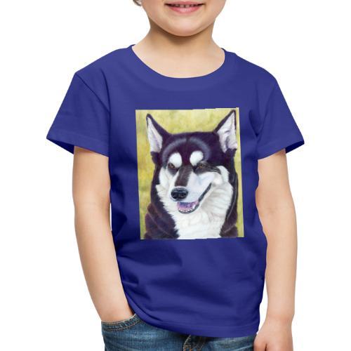 Siberian husky - Børne premium T-shirt