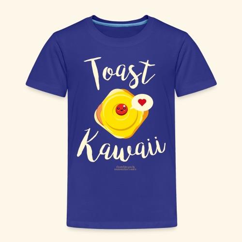 Toast Kawaii Geek Design - Kinder Premium T-Shirt