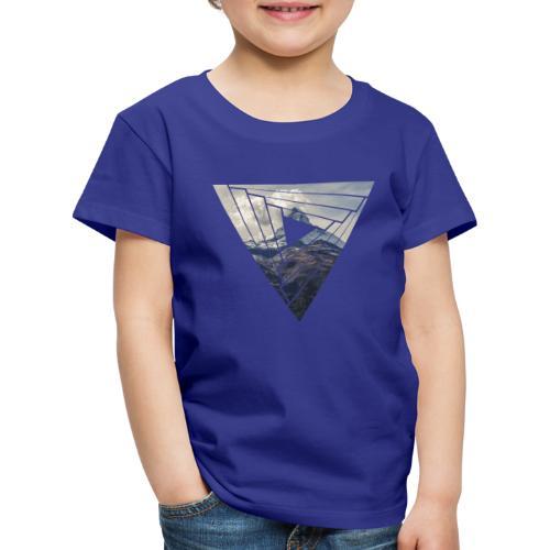 Matterhorn Zermatt Dreieck Design - Kinder Premium T-Shirt