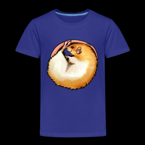 Hooded Rat - silver fawn - Kids' Premium T-Shirt