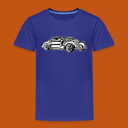 Hot Rod / Rad Rod 05_schwarz weiß - Kinder Premium T-Shirt