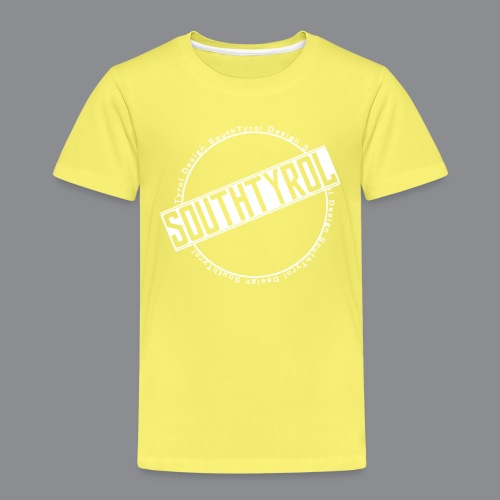 SouthTyrol Kreis weiß - Kinder Premium T-Shirt