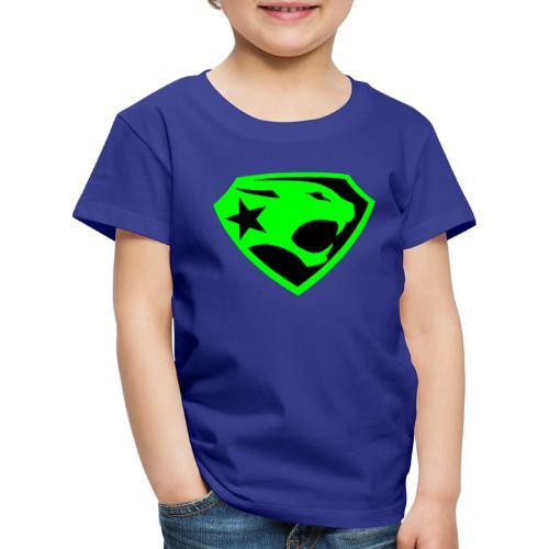 SUPER BLACK PANTHER - Kinder Premium T-Shirt