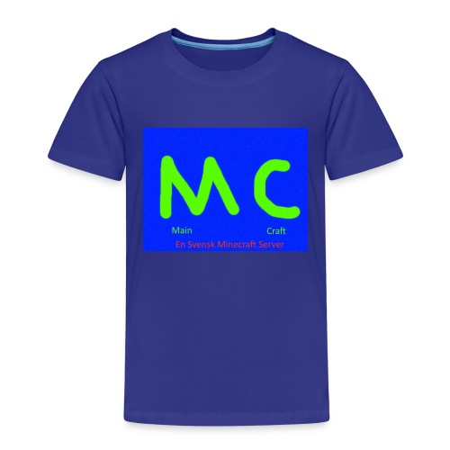 MainCraft Logga Blå - Premium-T-shirt barn