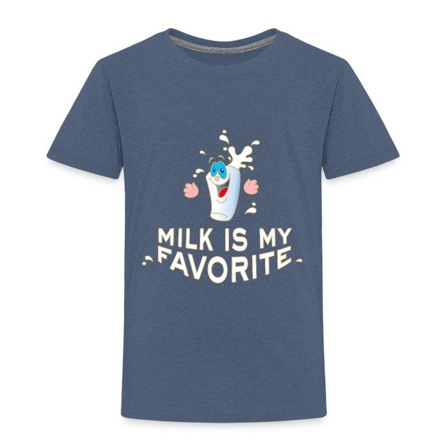 Milk is my favorite Milch Kaffee Sahne Kühe Bauern