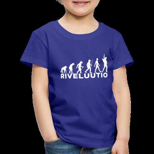 Riveluutio - Lasten premium t-paita
