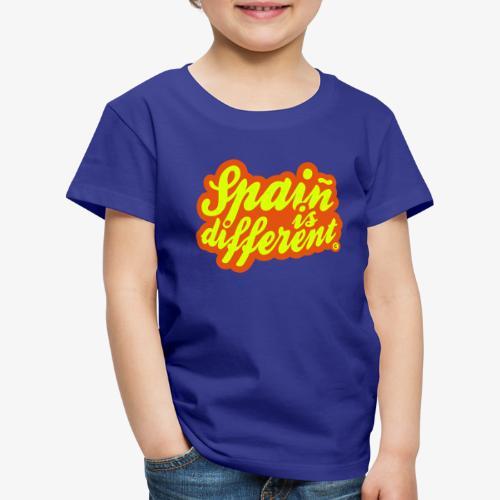 Spaiñ is different - Camiseta premium niño