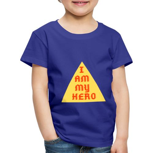 Le triangle I am my hero - T-shirt Premium Enfant